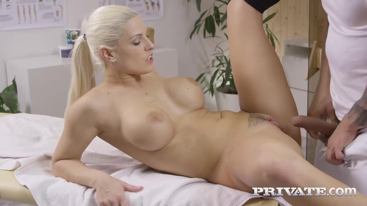 Blanche Bradburry Is Getting Her Daily Dose Of Anal Porn Instead Of Getting A Massage
