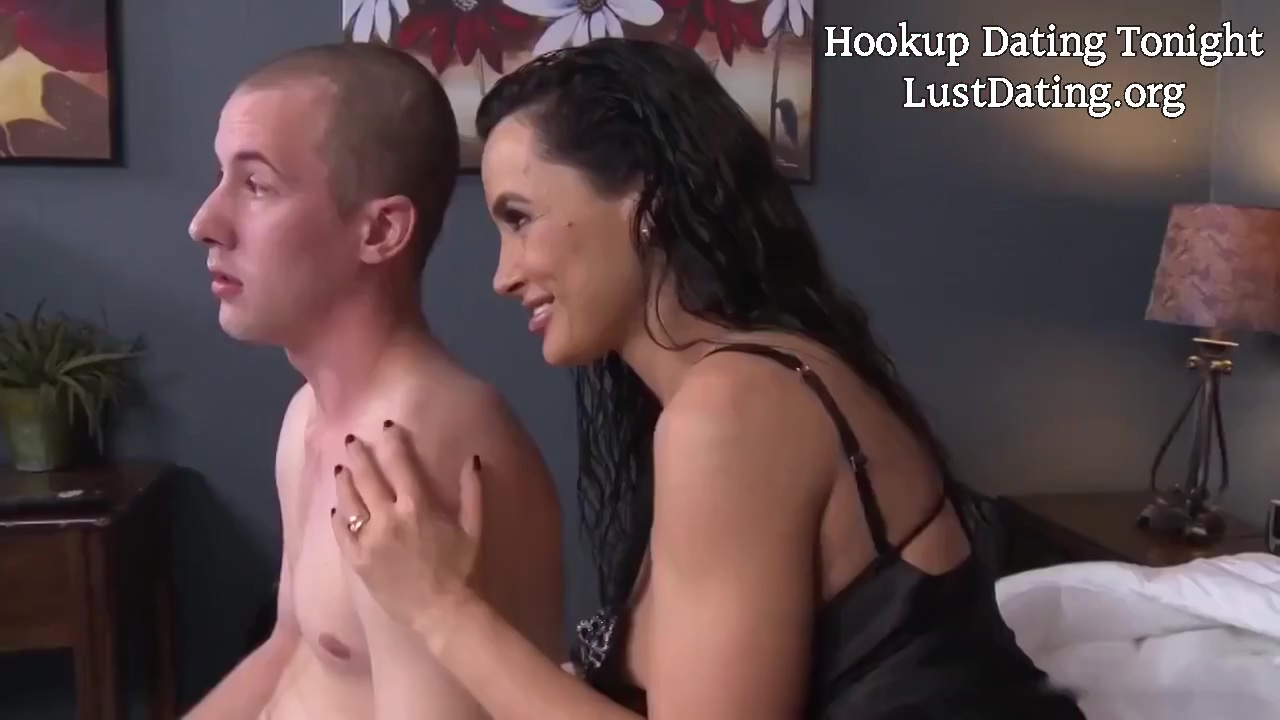 Lisa Ann Is A Big Tittied Mom Who Never Says No To A Casual Fuck With Younger Men