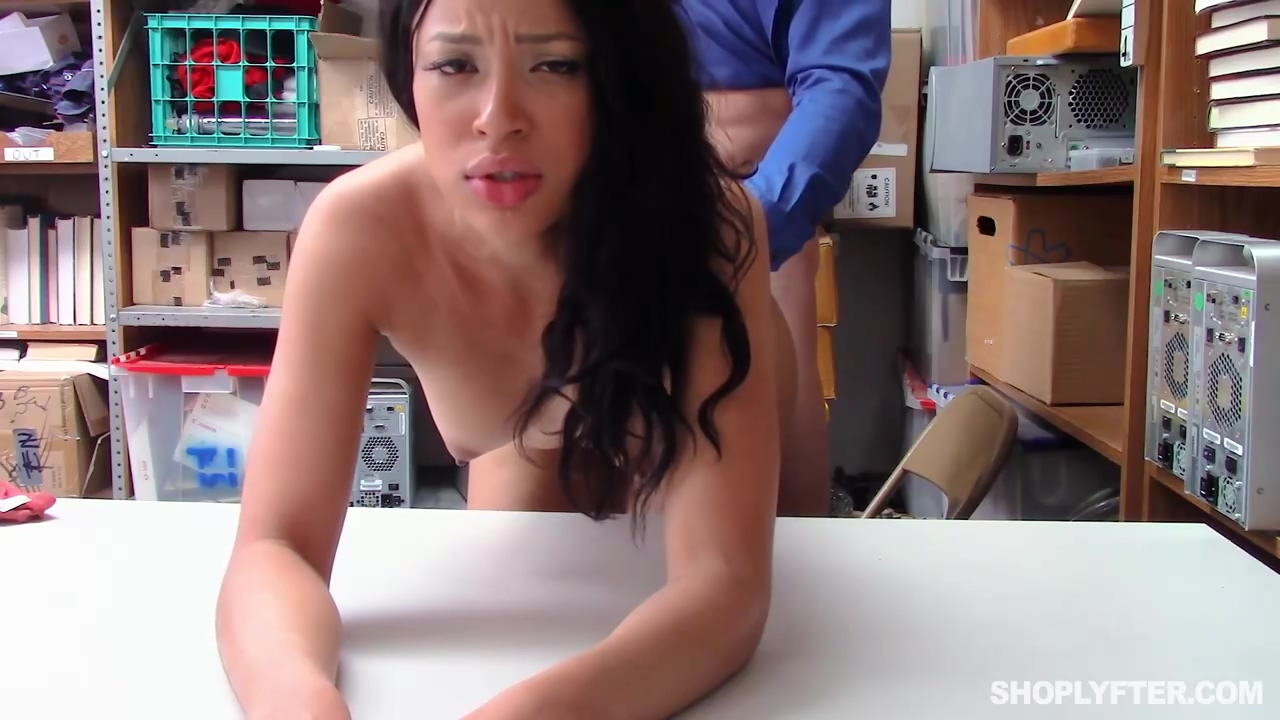 Dirty Minded Brunette Amethyst Banks Was Hoping For A Good Fuck When She Was Caught Shoplifting