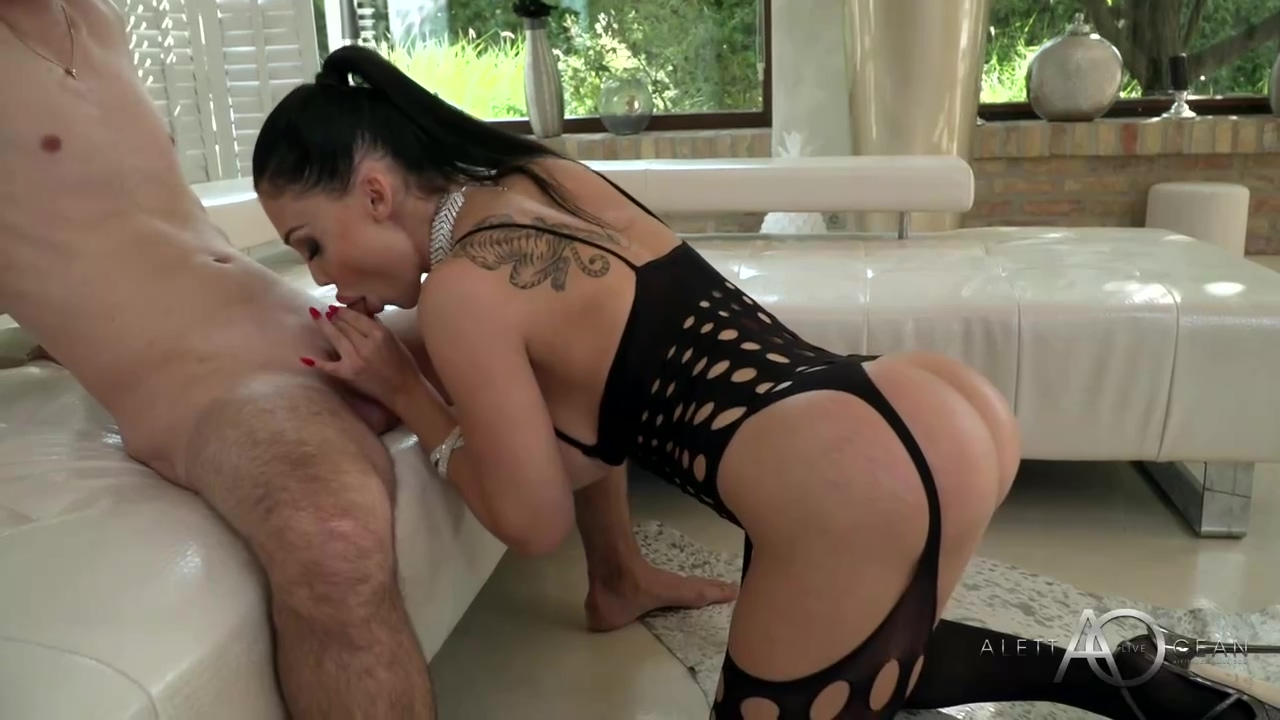 Curvaceous French Brunette With Blue Eyes Aletta Ocean Got Fucked In A Doggy Style Style Position