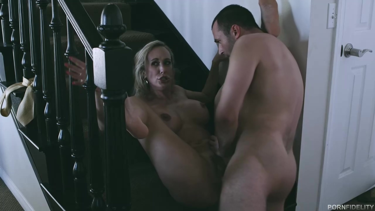 Busty Xxx Star Brandi Love And A Handsome Male James Deen Are Fucking In The Sex Studio