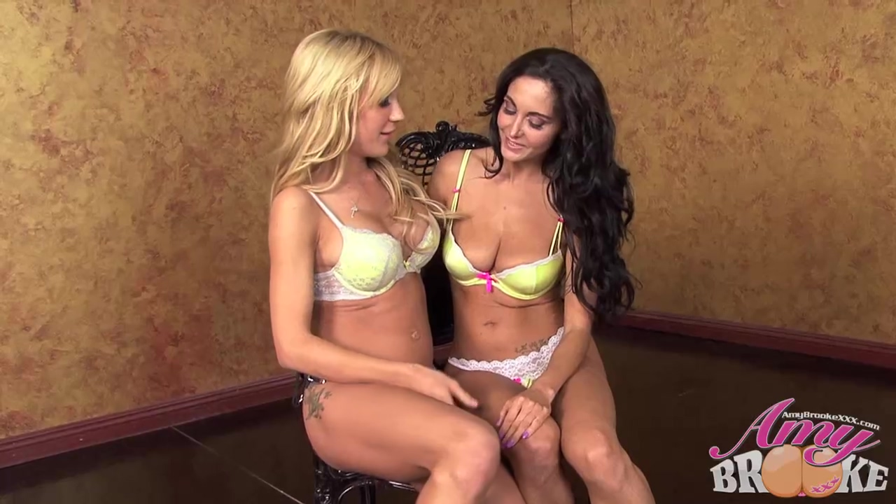 Ava Adams And Amy Brooke Decided To Make Love With Each Other All Night Long