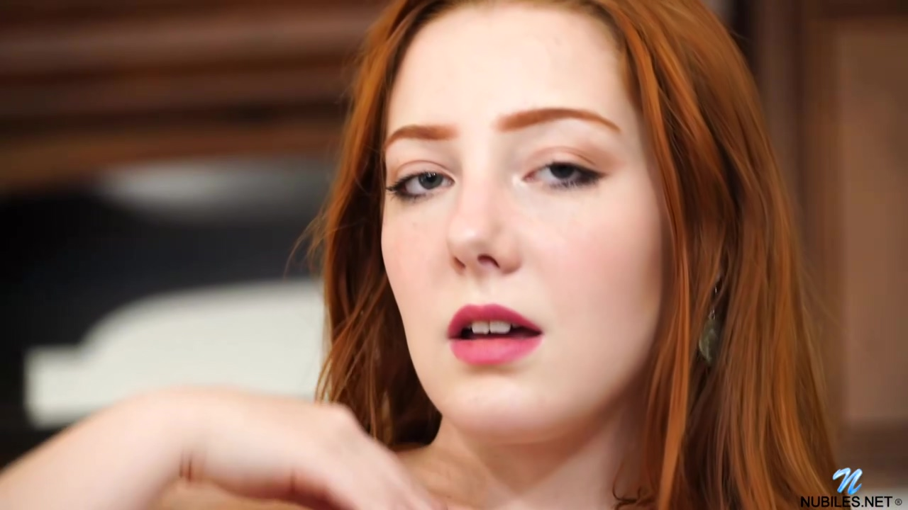 Red Haired Honey Amber Addis Is Alone At Home And In The Mood To Masturbate