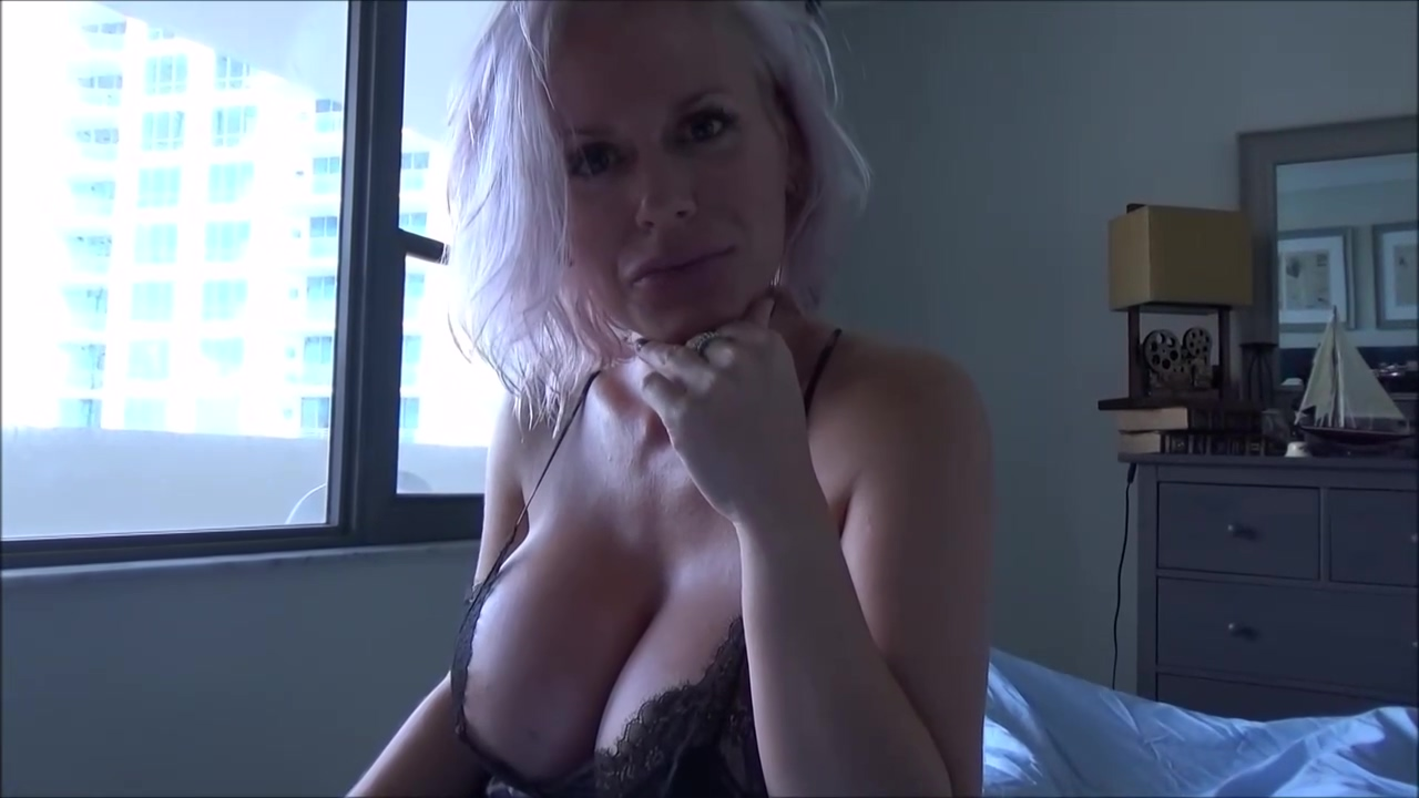 Busty Blonde Girl Casca Akashova Is Giving A Blowjob To Her Step Son And Getting Fucked