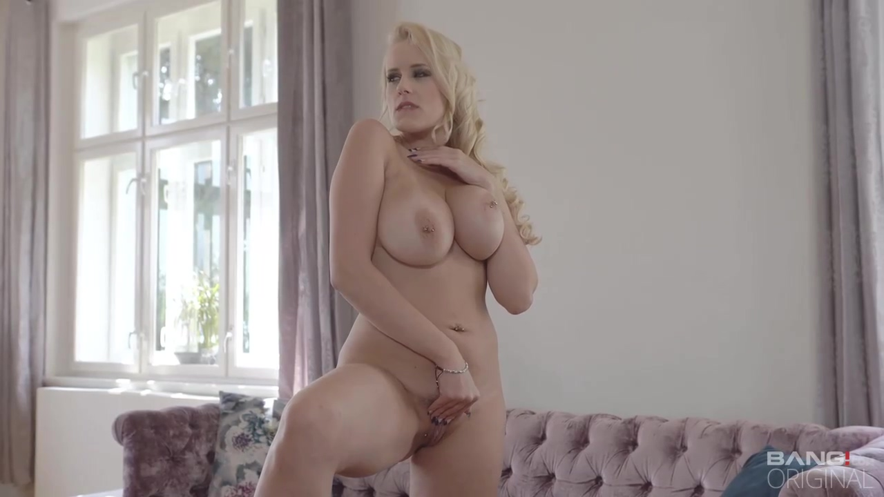 Beautiful Blonde Mature In A Red Dress Angel Wicky Is Drooling On 2 Hard Cocks