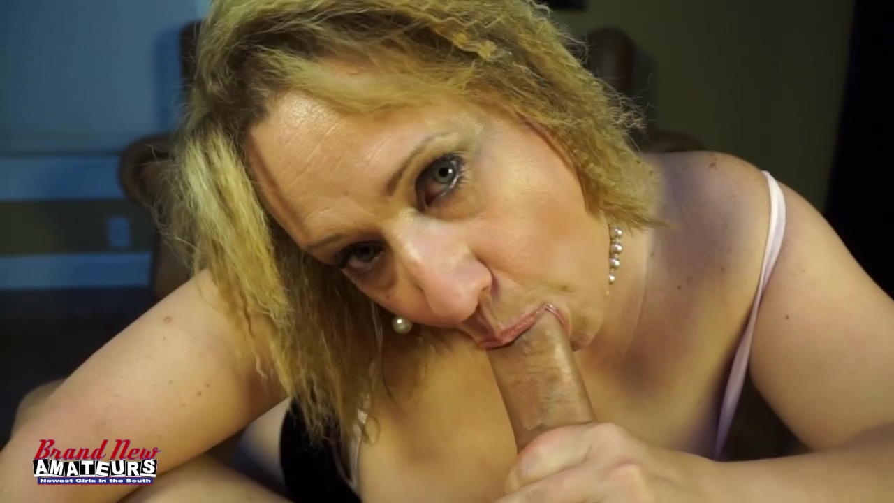 Donna Sucks Dick As A Mature Great Boob Woman