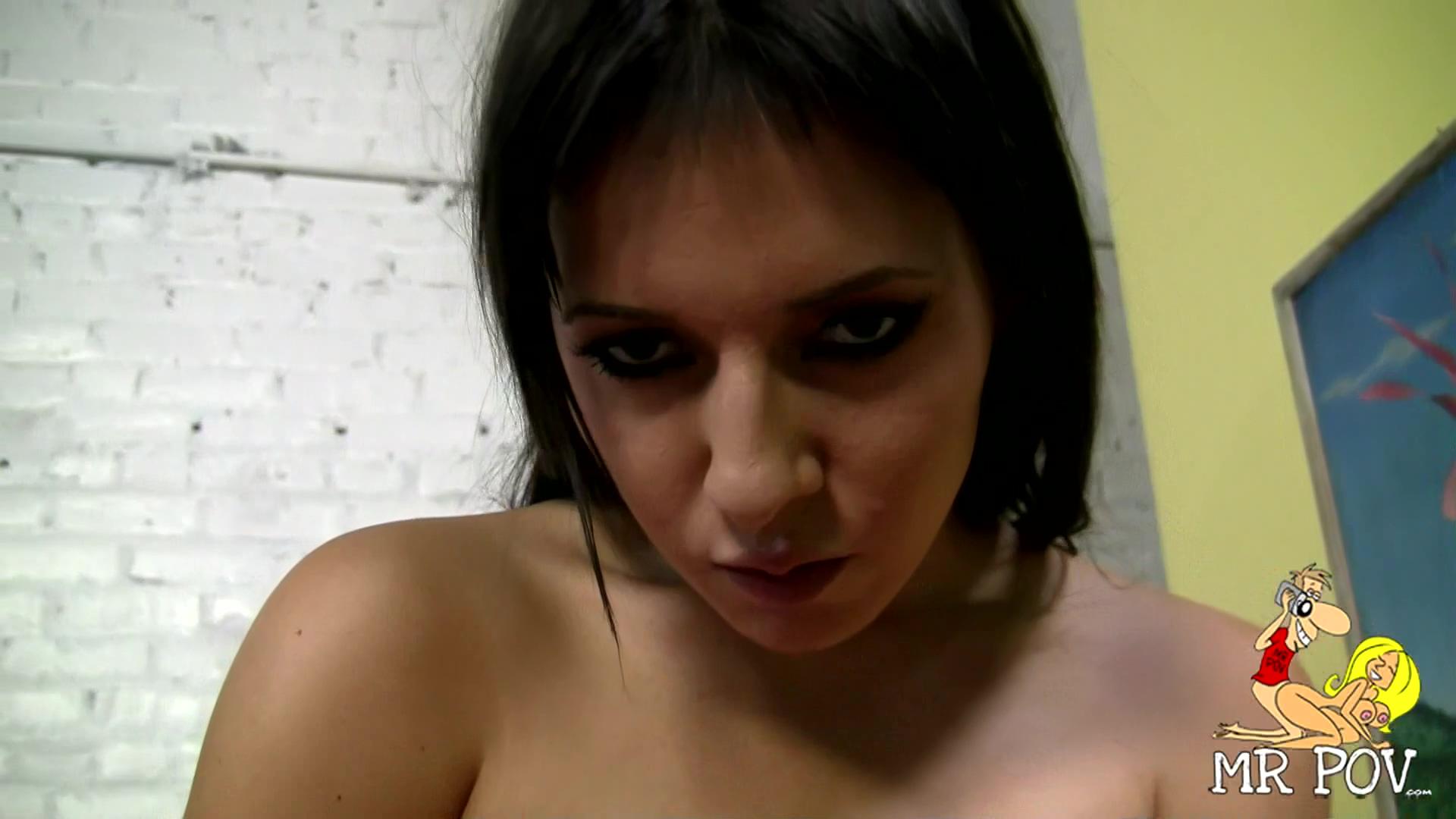 Ashli Orion Enjoys Getting Sperm In Her Mouth