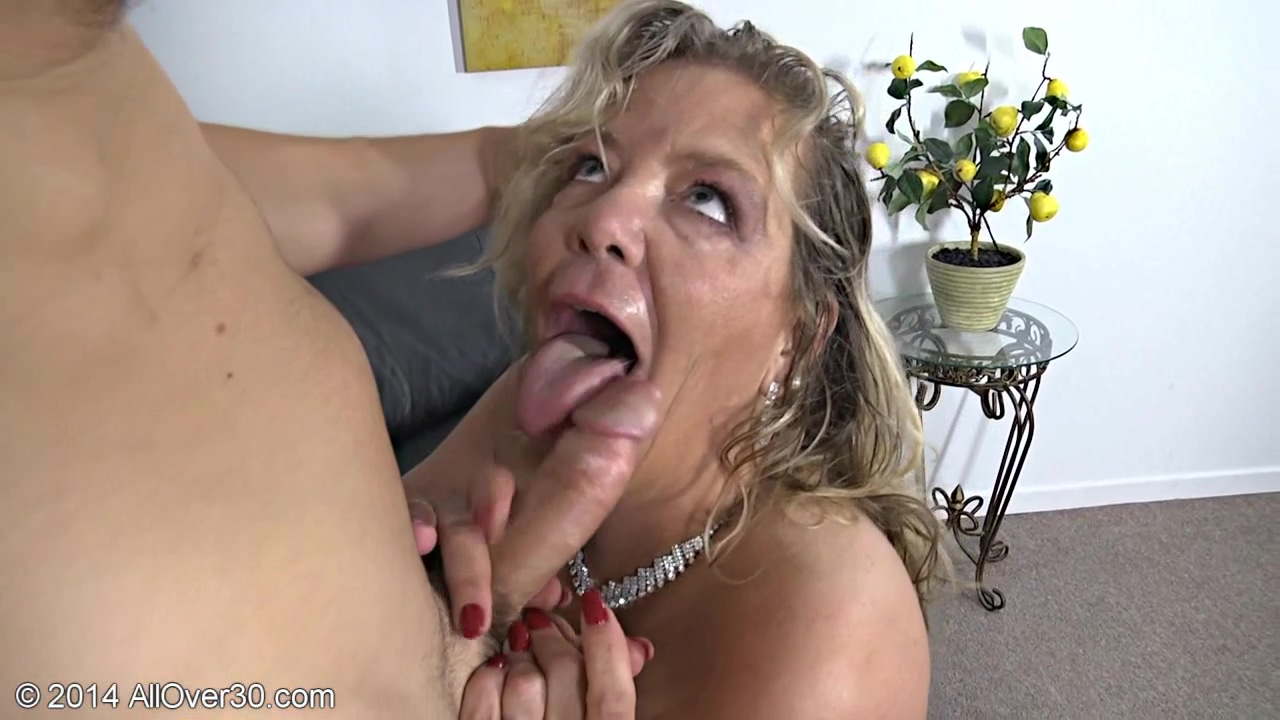Hot Milf Sucking And Fucking With A Teen Man