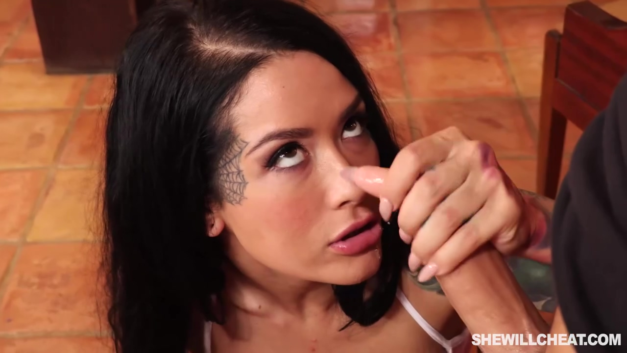 Katrina Jade Is A Smashing Tattooed Brunette Who Likes Porn From The Back Until She Cums