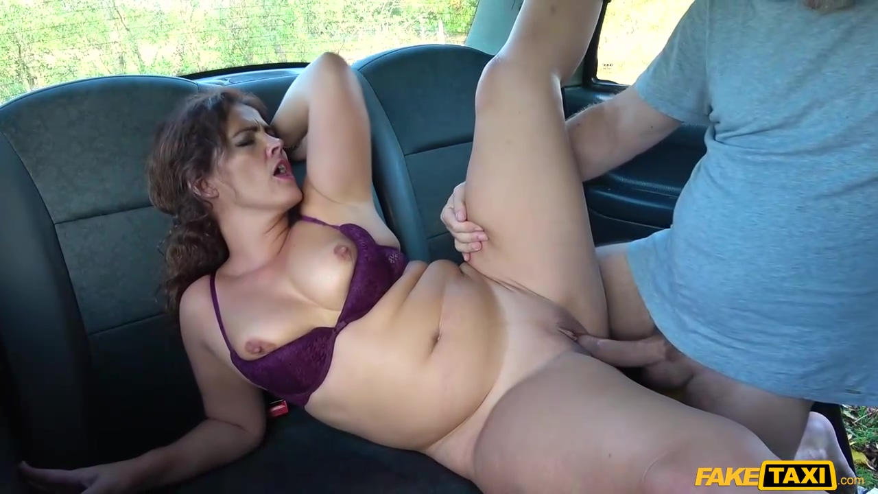 Latin Brunette With A Big Round Ass Montse Swinger Got Fucked In The Back Of A Taxi