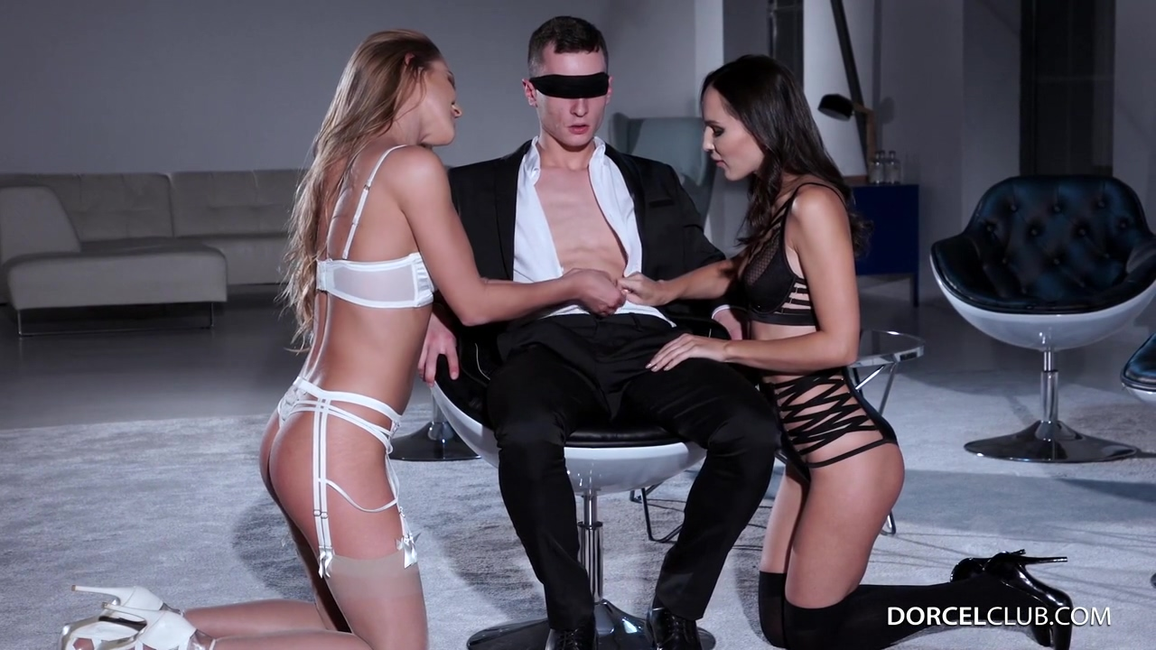 Smoking Hot Whores Alexis Crystal And Lilu Moon Were Hired To Keep A Filthy Rich Dude Satisfied