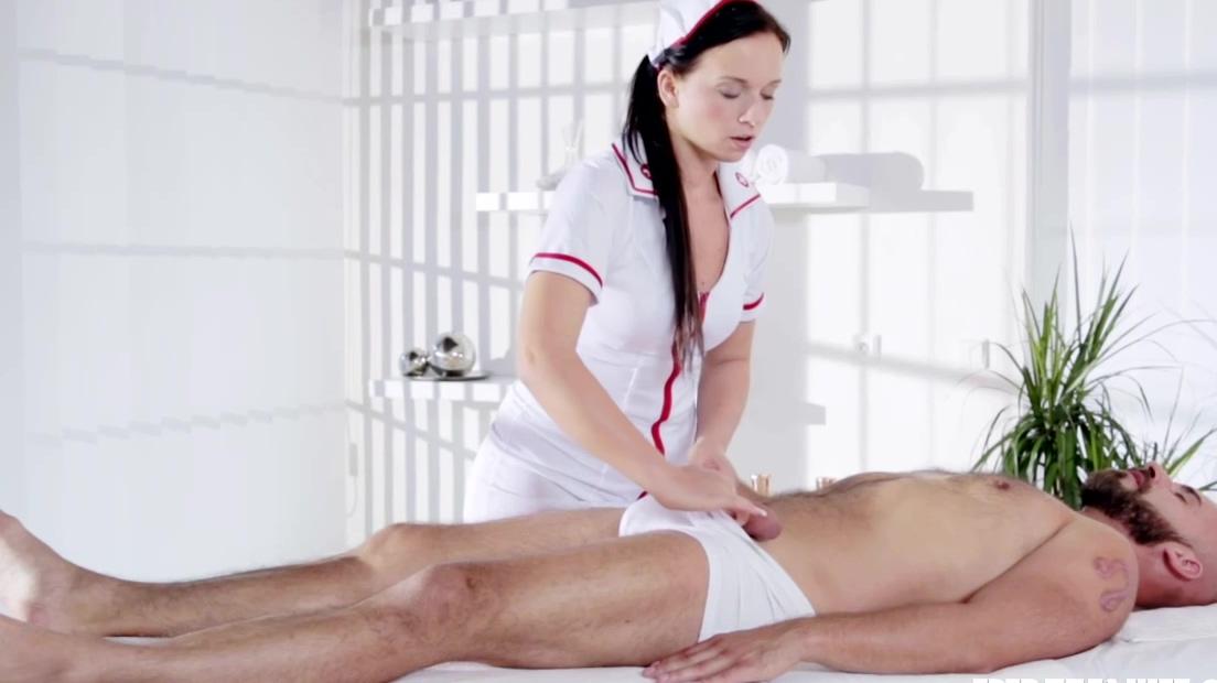 Sweet Natalee Nurses A Hard Cock