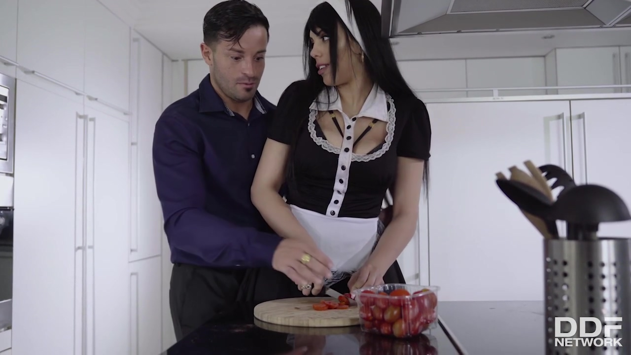 Katrina Moreno Is A Great Titted Housemaid Who Likes To Have Xxx More Than Doing Her Job