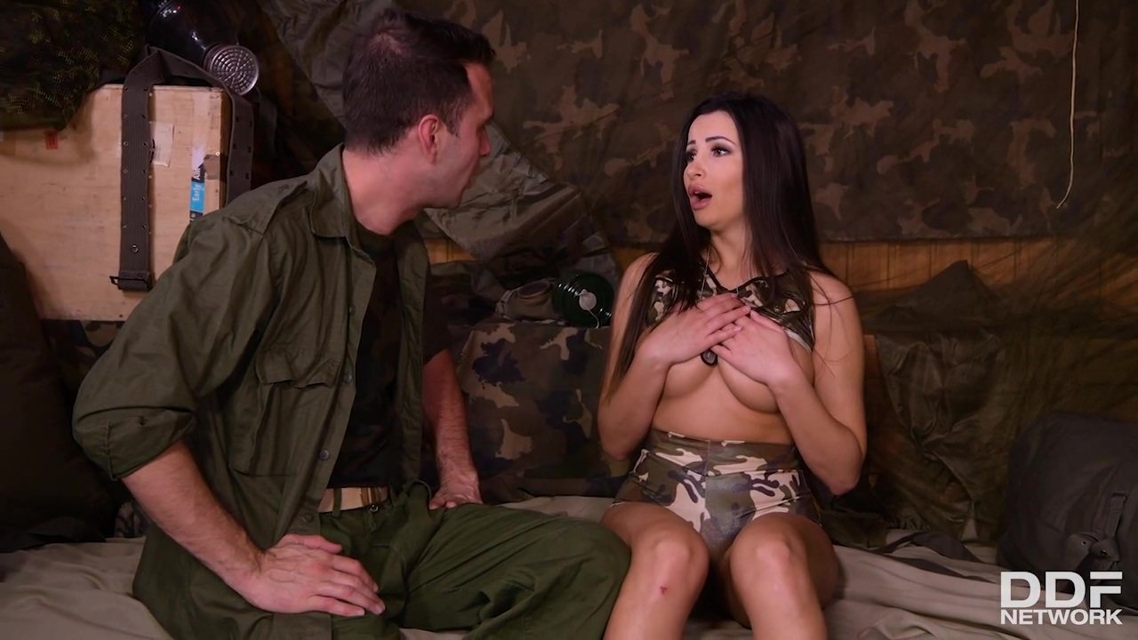 Alyssia Kent Is A Huge Titted Soldier Who Likes To Have Hardcore In The Bunker
