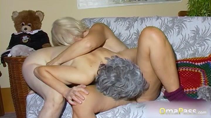 Omapass Huge Natural Tits Played By Lesbians