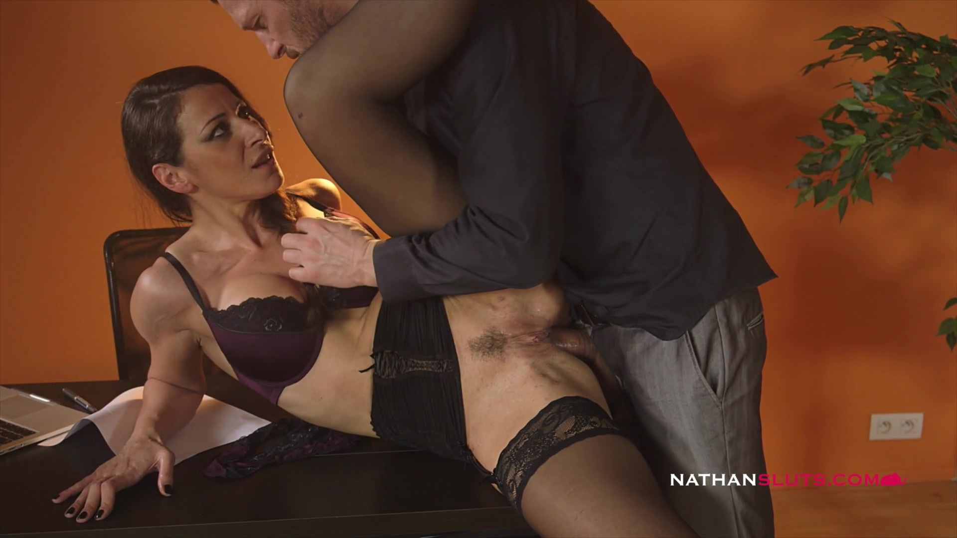 Hot Busty Milf Secretary Martina Gold Takes On Her Boss Big Dick Up Her Gaping Asshole