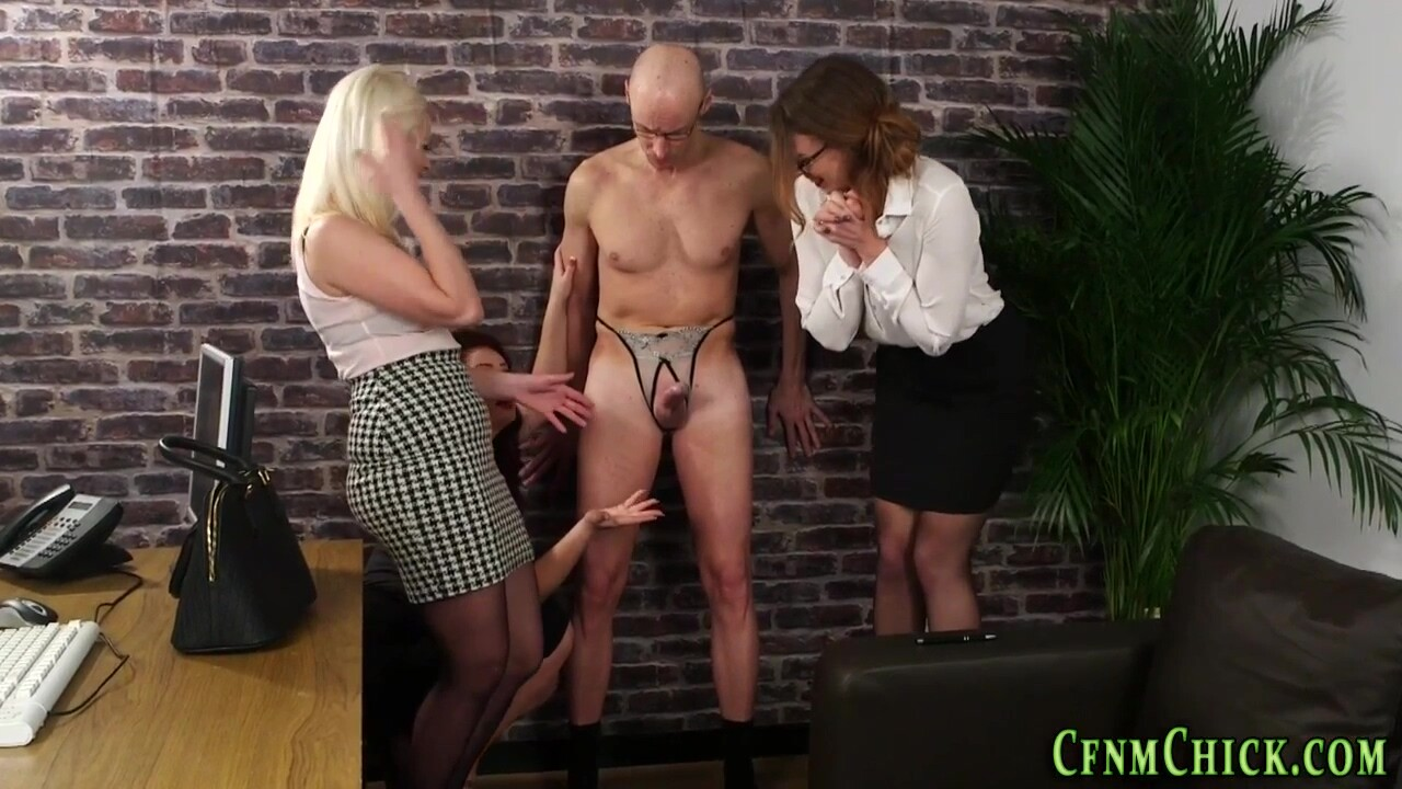 Classy Dominas Toying Sissys Booty