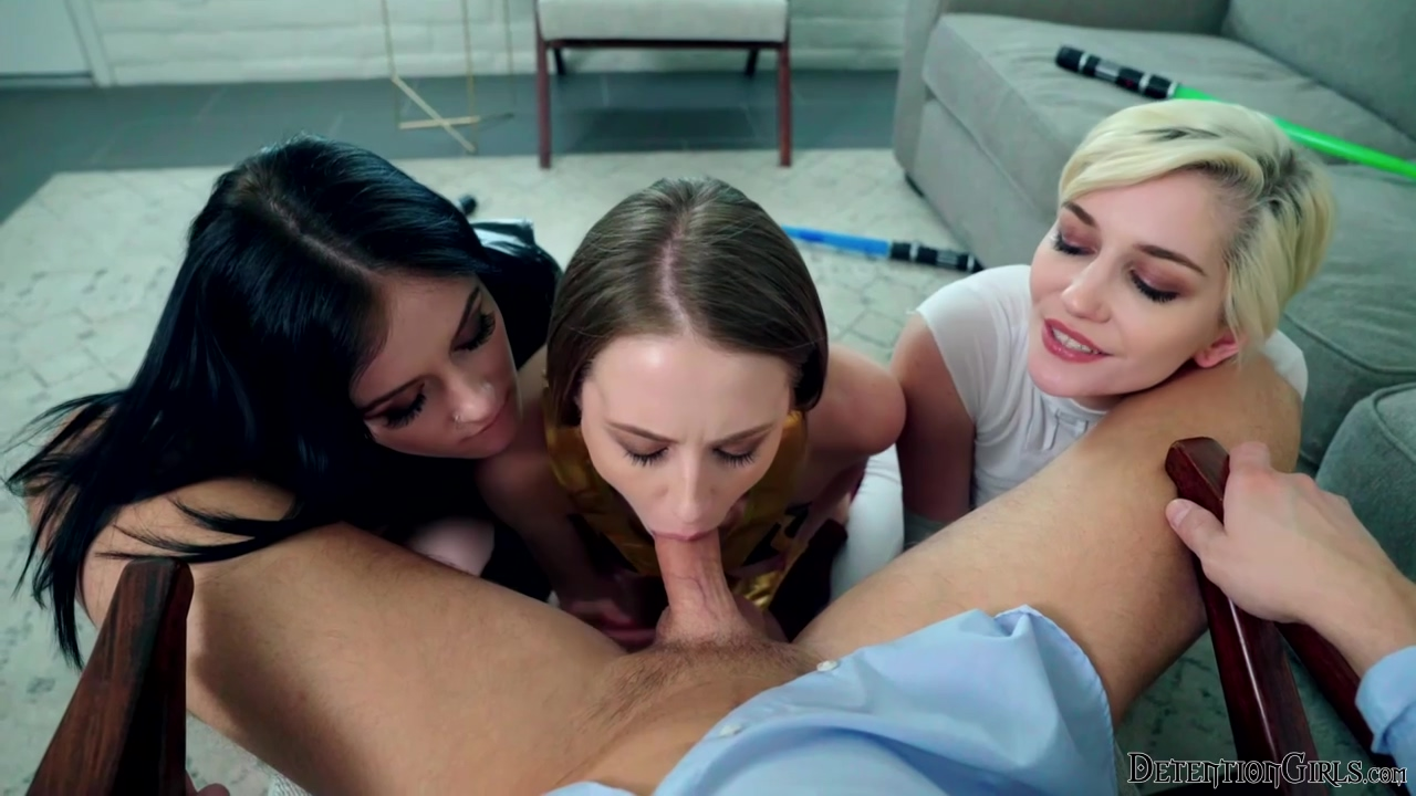 Kyler Quinn, Rosalyn Sphinx, Skye Blue - Star Whores May The 4th Be With You