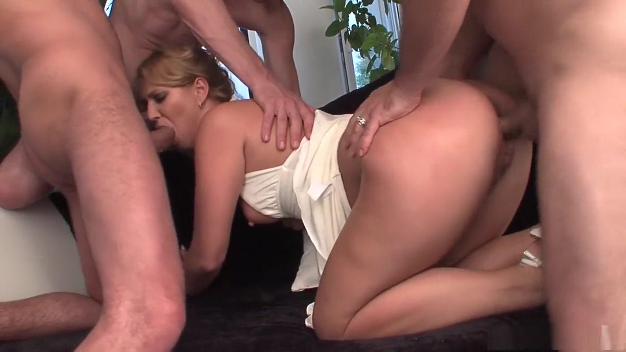 Incredible pornstar Linda Ray in hottest blonde, dp adult movie