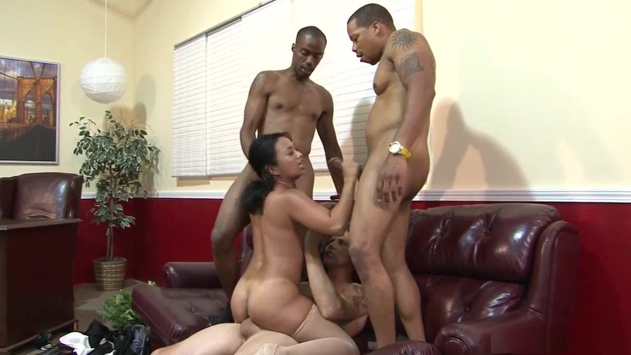 Incredible pornstar Lucky Starr in horny brazilian, gangbang sex clip