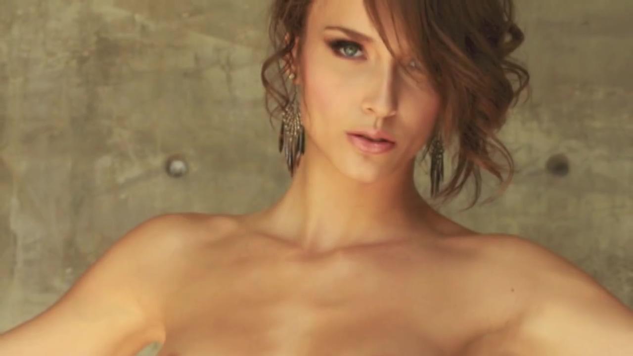 Pretty Pornstar Malena Morgan strip all during a photoshoot